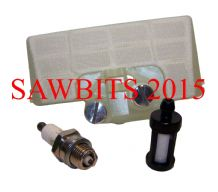 STIHL 029 039 MS290 MS310 MS390 AIR FILTER SERVICE KIT 1127 120 1620
